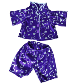 DARK PURPLE HEART PJ