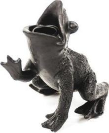 Kandelaar - Kikker - zwart