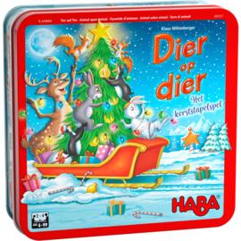 Haba - Dier op dier – Het kerststapelspel