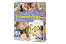 4M - Gieten en verven - Vriendschap