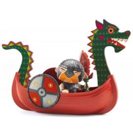 Djeco - Arty Toys - Drack & Ze drakkar
