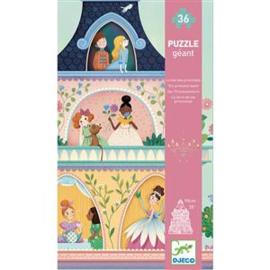 Djeco - Vloerpuzzel 'Prinsessentoren' 36 st