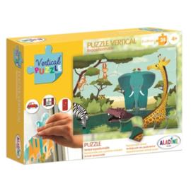 Aladine -Verticale Puzzel - Savanne