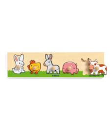 Djeco - Inlegpuzzel Farm'n 'co