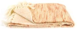 Plaid - Ria roze 170x130cm