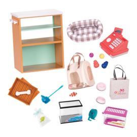 Our Generation - Deluxe pet Store Set