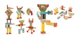 Djeco - Bouw Set Robot - Ze Elastorobot