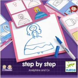 Djeco -  Eduludo step by step joséphine & co