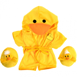 DUCK ROBE & SLIPPERS OUTFIT
