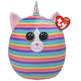 Fidget toy - Squishmallow -  Ty Squish a Boo - Heather The Cat - 31 cm
