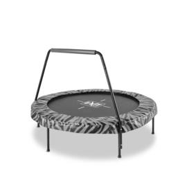 EXIT - Tiggy junior trampoline met beugel ø140cm - zwart/grijs