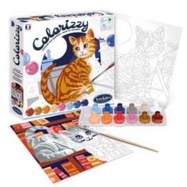 Colorizzy - Schilder op nummer - Katten