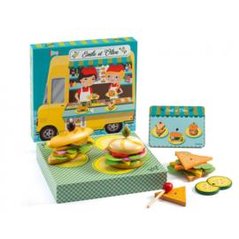 Djeco - Emile & Olive broodjesbar