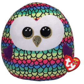 Fidget toy - Squishmallow -  Ty Squish a Boo - Owen The Owl - 31 cm
