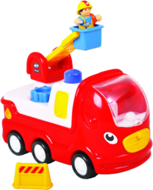 WoW Toys - Ernie Fire Engine - Brandweerauto