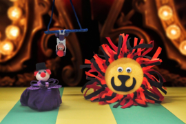 Knutselbox - Circus - 6 jaar