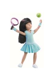 Kruselings - Luna tennis practice