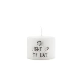 Kaars - Light up my day