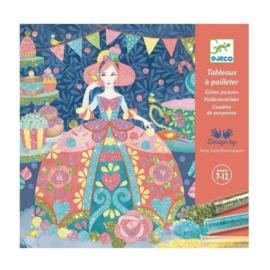 Djeco - Glitter schilderijtjes Daydream