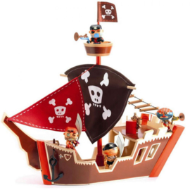 Djeco - Arty Toys - Ze Pirate Boat