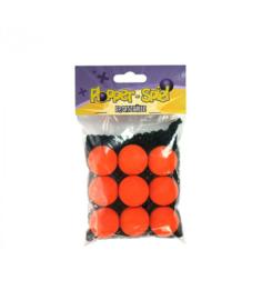 Plopper - Ballen Oranje - 9 stuks