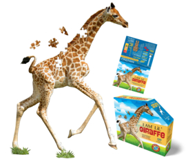 Madd Capp Puzzel - I am Lil Giraffe - 100 stuks