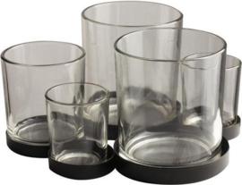 Metalen Houder Met Glaasjes - 5pcs
