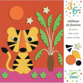 Djeco -  Viltschilderijen - Lieve natuur