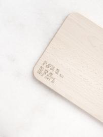 Houten serveerplankje – Zeg weetje oma