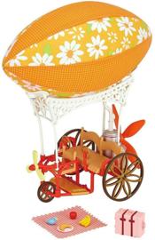 Sylvanian families fiets luchtballon