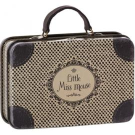 Poppenkoffertje - Little Miss Mouse - 11cm