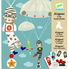 Djeco - Kirigami parachutes