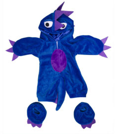 BLUE/PURPLE MONSTER COSTUME