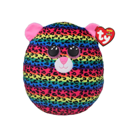 Fidget toy - Squishmallow -  Ty Squish a Boo - Dotty The Leopard - 20 cm