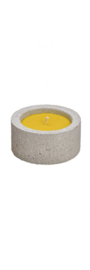 Citronella Kaars in beton