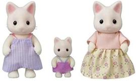 Sylvanian Families - Familie witte Kat