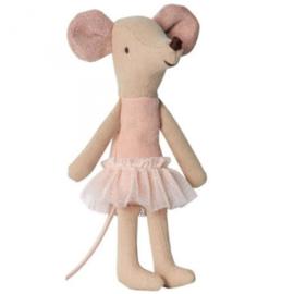 Knuffelmuis grote zus - Ballerina - 12cm