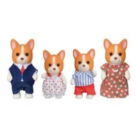Sylvanian Families - Corgi hond Familie