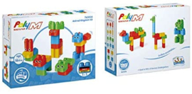Poly M - Animal Kingdom Kit - Bouwblokken 31-delig