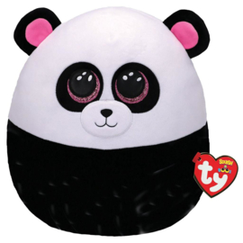 Fidget toy - Squishmallow -  Ty Squish a Boo - Bamboo The Panda - 31 cm