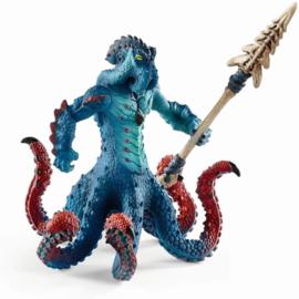 Monster kraken met wapen
