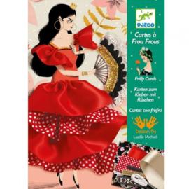 Djeco - Flamenco kleefkaarten