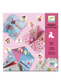 Djeco - Origami toekomstvoorspeller bloemen