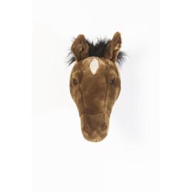 Paard donker bruin