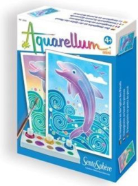 Aquarellum Mini Dolfijnen