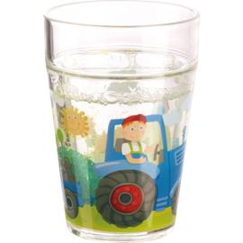Haba - Glitterbeker Tractor