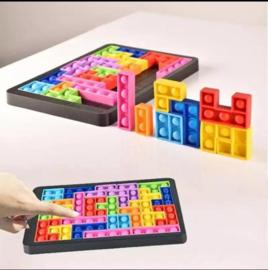 Fidget  toy Pop It  - Tetris