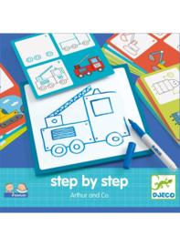 Djeco - Step by step, Arthur en Co