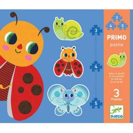 Djeco - Primo Puzzel - In de tuin