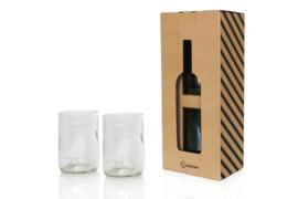 Rebottled Glazen 2pack - Clear